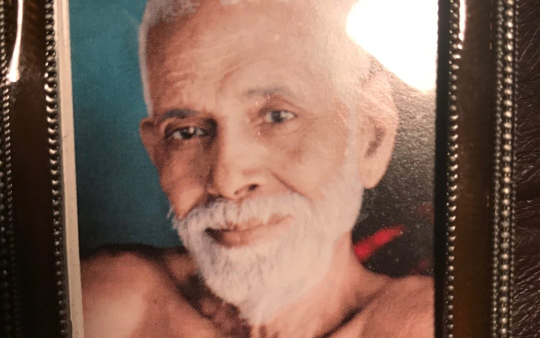 Gandhi's great respect for Guru Sri Ramana Maharshi